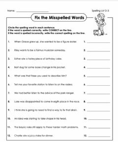Interactive worksheet Fix the mistakes  D-3 5th grade