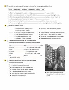 Interactive worksheet B1-o1 lesson A