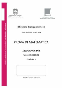 Interactive worksheet Invalsi matematica 2 2017-2018