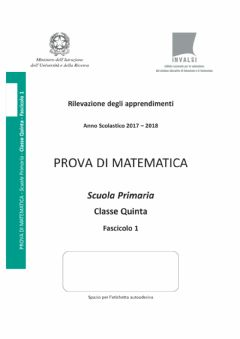 Interactive worksheet Invalsi matematica 2017-18 5