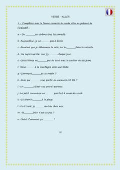 Interactive worksheet Verbe aller EX