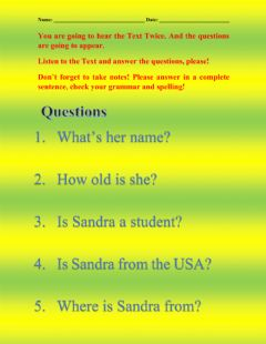 Ficha interactiva VERB TO BE in Simple Present Tense Questions and Answers