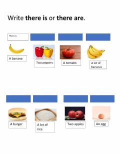 Interactive worksheet There is there are