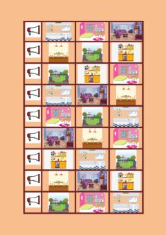 Interactive worksheet Rooms of the House Listening