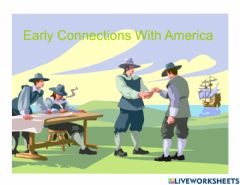 Ficha interactiva Early Connection With America