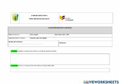 Interactive worksheet The verb to by