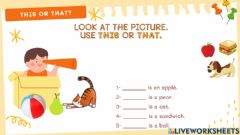 Interactive worksheet This or that?