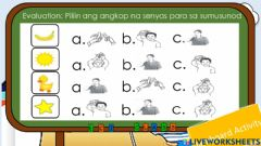 Interactive worksheet Dilaw 2