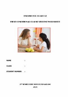 Interactive worksheet If you ...,I will ...