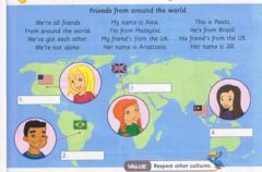 Interactive worksheet Year 4 - Where Are You From?