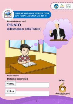 Interactive worksheet Pidato