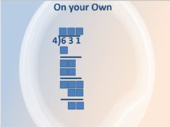 Ficha interactiva Long Division by one digit
