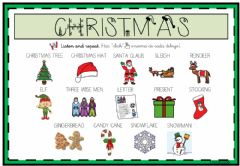 Interactive worksheet It's Christmas Time