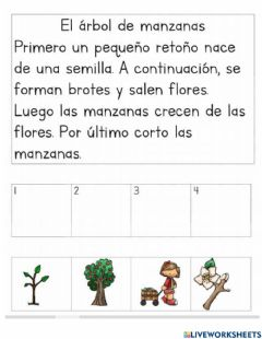 Interactive worksheet Secuencias de cuentos 1