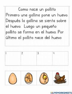 Interactive worksheet Secuencias de cuentos 2