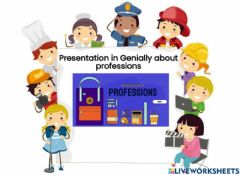 Interactive worksheet Professions - jobs