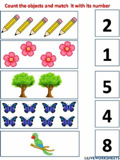 Interactive worksheet Number revision