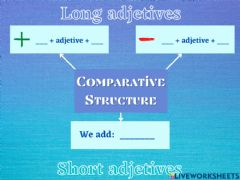 Interactive worksheet Comparative structure