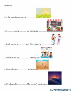 Interactive worksheet Dictation lesson 18 Jet junior A
