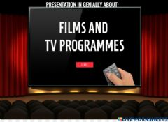 Interactive worksheet Films and TV programmes