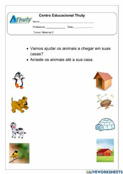 Interactive worksheet Aula:23-02-2021