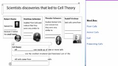 Interactive worksheet Cell theory