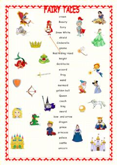 Interactive worksheet Fairy taile elements