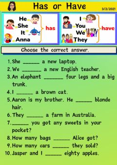 Interactive worksheet GS-Welcome!