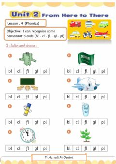 Ficha interactiva We Can 4 Unit 2 Lesson 4
