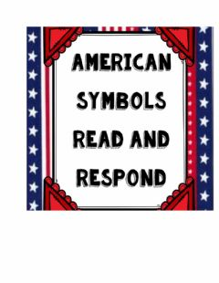 Interactive worksheet American symbols
