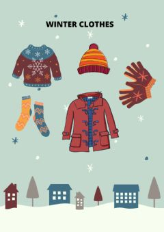 Interactive worksheet Winter Clothes 2