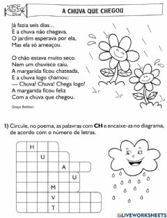 Interactive worksheet Uso do ch