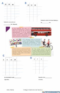 Interactive worksheet Factorización
