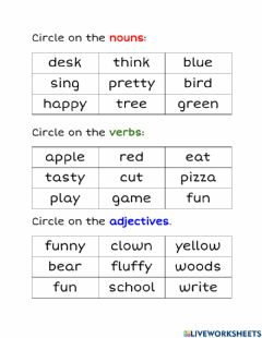 Interactive worksheet Grammar Check 2