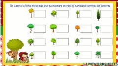 Interactive worksheet Patrones árboles