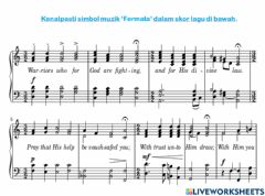 Interactive worksheet Fermata