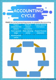 Ficha interactiva Chapter 1-Accounting Cycle