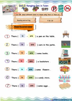 Interactive worksheet Hanging out  - Reading and writing