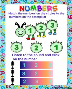 Interactive worksheet Review Numbers