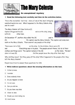 Interactive worksheet Embedded Questions