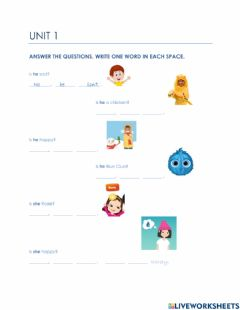 Interactive worksheet Bright Ideas 2 U1 B
