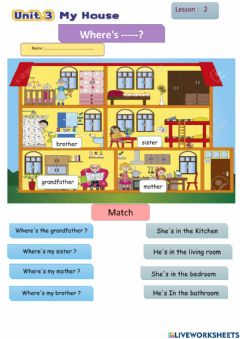 Interactive worksheet We can 4 unit3 lesson2