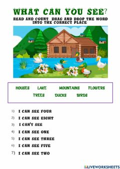 Interactive worksheet I can see