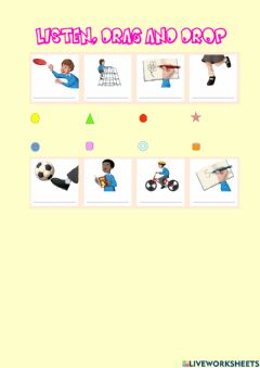 Interactive worksheet Rooftops 2 - Unit 2 - At school - Drag and drop