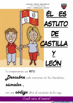 Interactive worksheet Castilla y león: estatuto