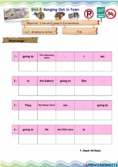 Interactive worksheet We can 6 U 5 L 2
