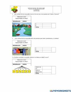 Interactive worksheet Tecnicas de conteo
