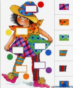 Interactive worksheet Carnevale