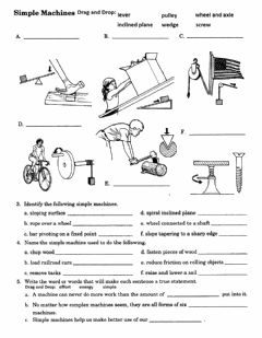 Interactive worksheet PS-12-Identifying Simple Machines