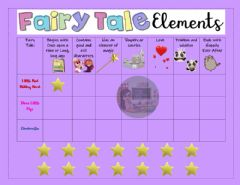 Interactive worksheet Fairy Tale Elements